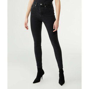 KSUBI Denim Hi N Wasted Noir Black Skinny Jeans